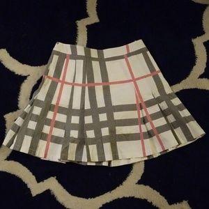 NWOT Burberry golf skirt